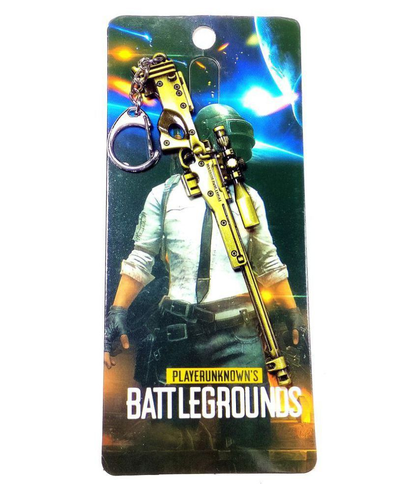 PUBG M24 SNIPER Key Chain Key Ring For Pubg Fans Suitable For All Bikes And  Cars