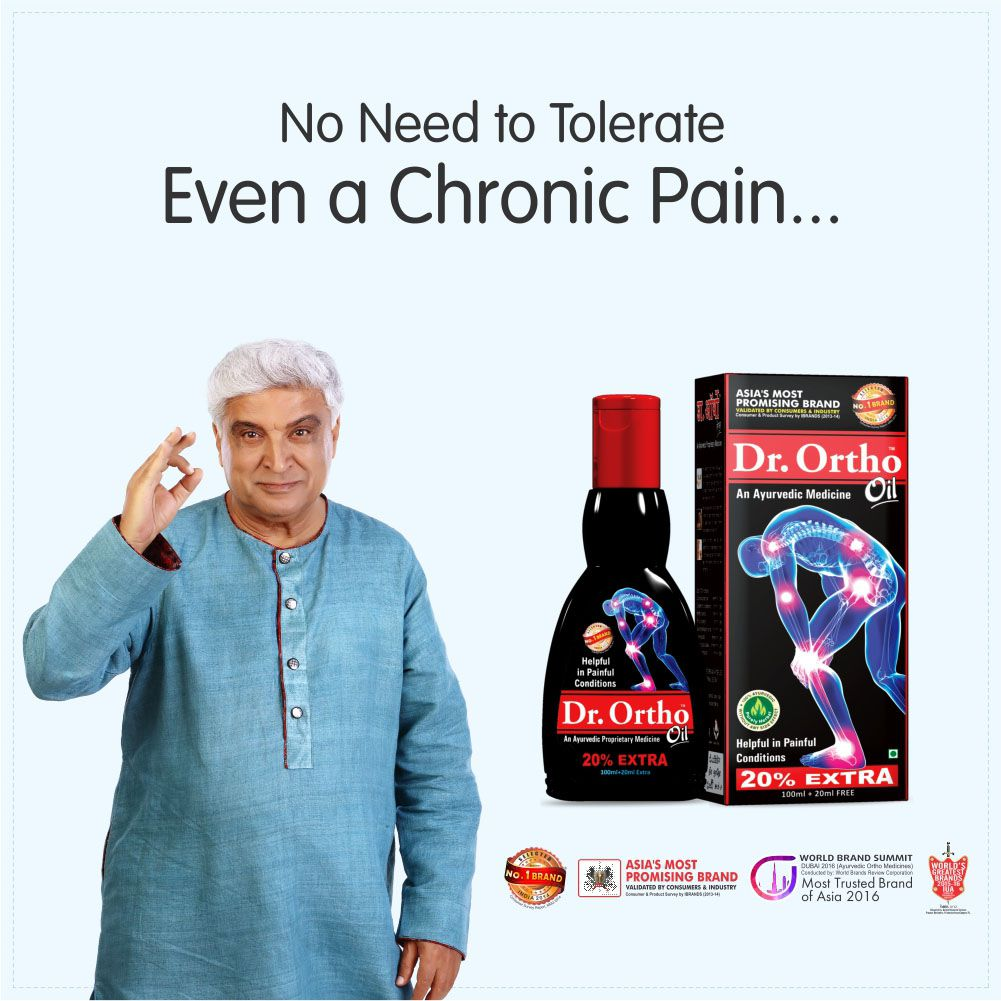 Dr Ortho 1 Month Pack (2 X Oil 120ml, 4 X 30 Capsules, 1 X Spray 50ml, 1 X  Ointment 30gm) - Ayurvedic Medicine Helpful in Joint Pain, Knee Pain, Back