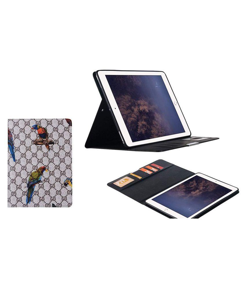 super popular 0ed28 e535f Samsung Galaxy Tab E 9.6 T567V Flip Cover By TGK White