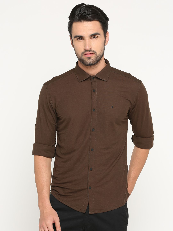 Showoff Cotton Blend Shirt