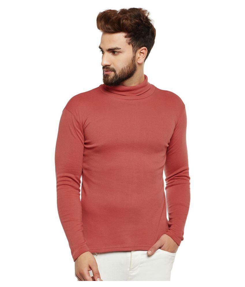 Hypernation Brown Full Sleeve T-Shirt Pack of 1