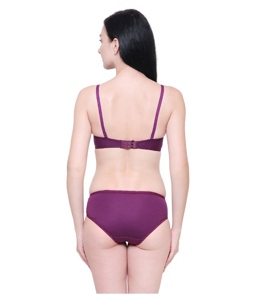 217c9cc08 Buy Pinkbox Cotton Bra and Panty Set Online at Best Prices in India ...