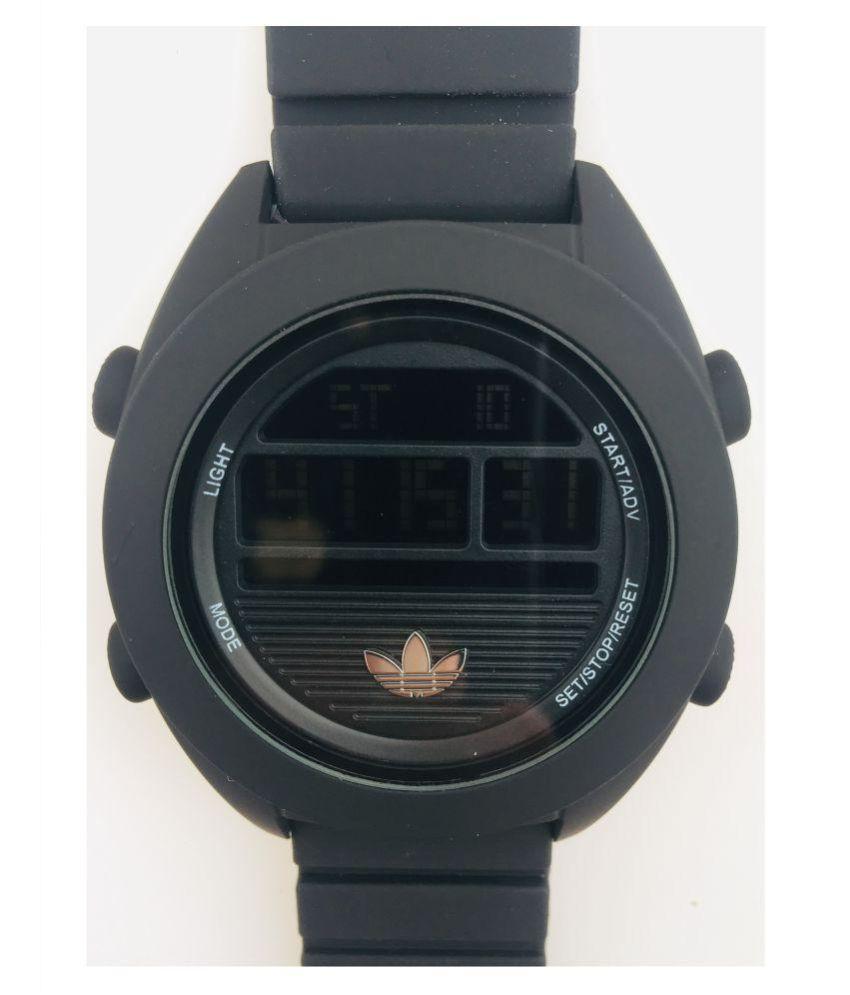 Adidas 8018 Rubber Digital Men's Watch