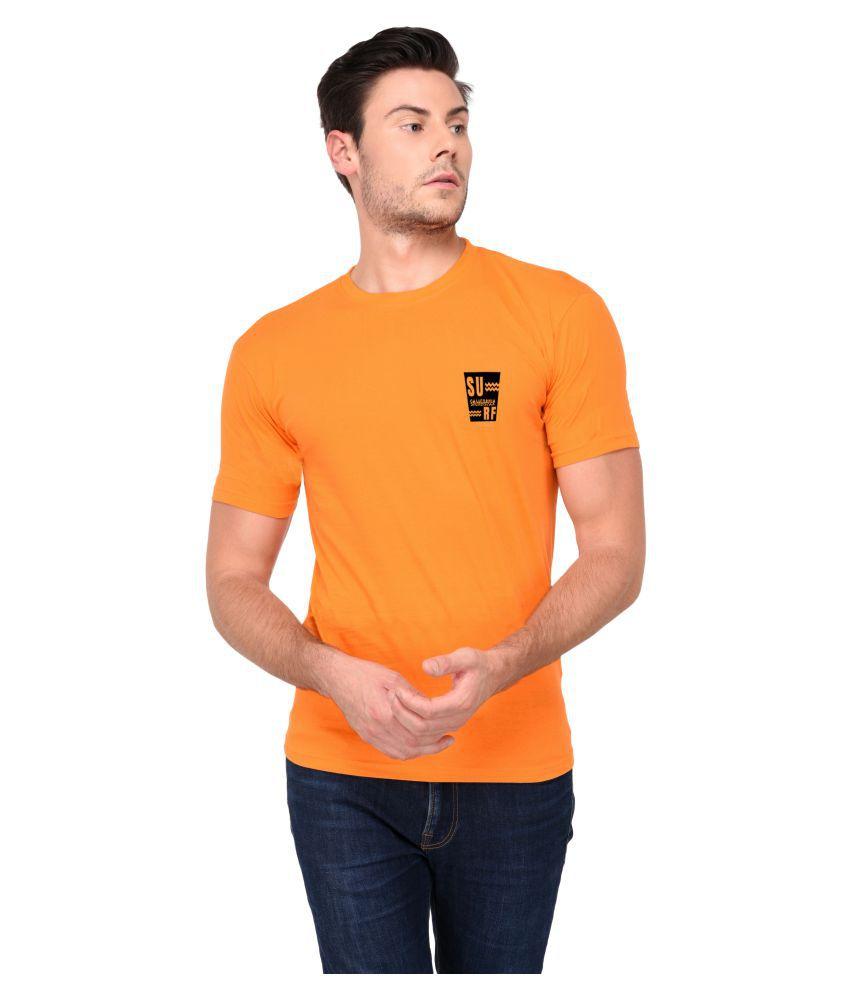 Aswa ORANGE Half Sleeve T-Shirt