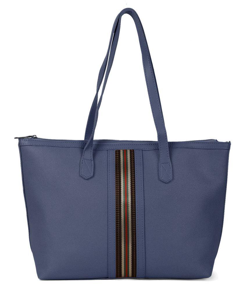 Kielz Blue Synthetic Casual Messenger Bag