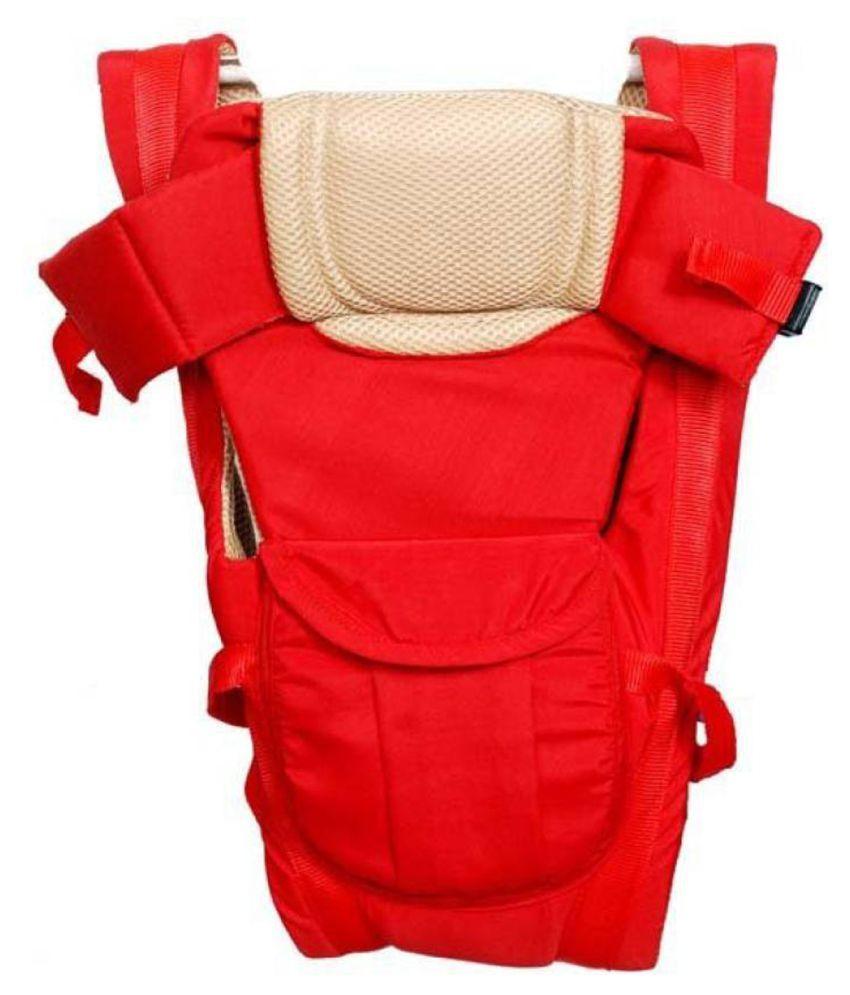 Welo Red Cotton Baby Wrap cum blanket ( 200 cm × 180 cm - 1 pcs)