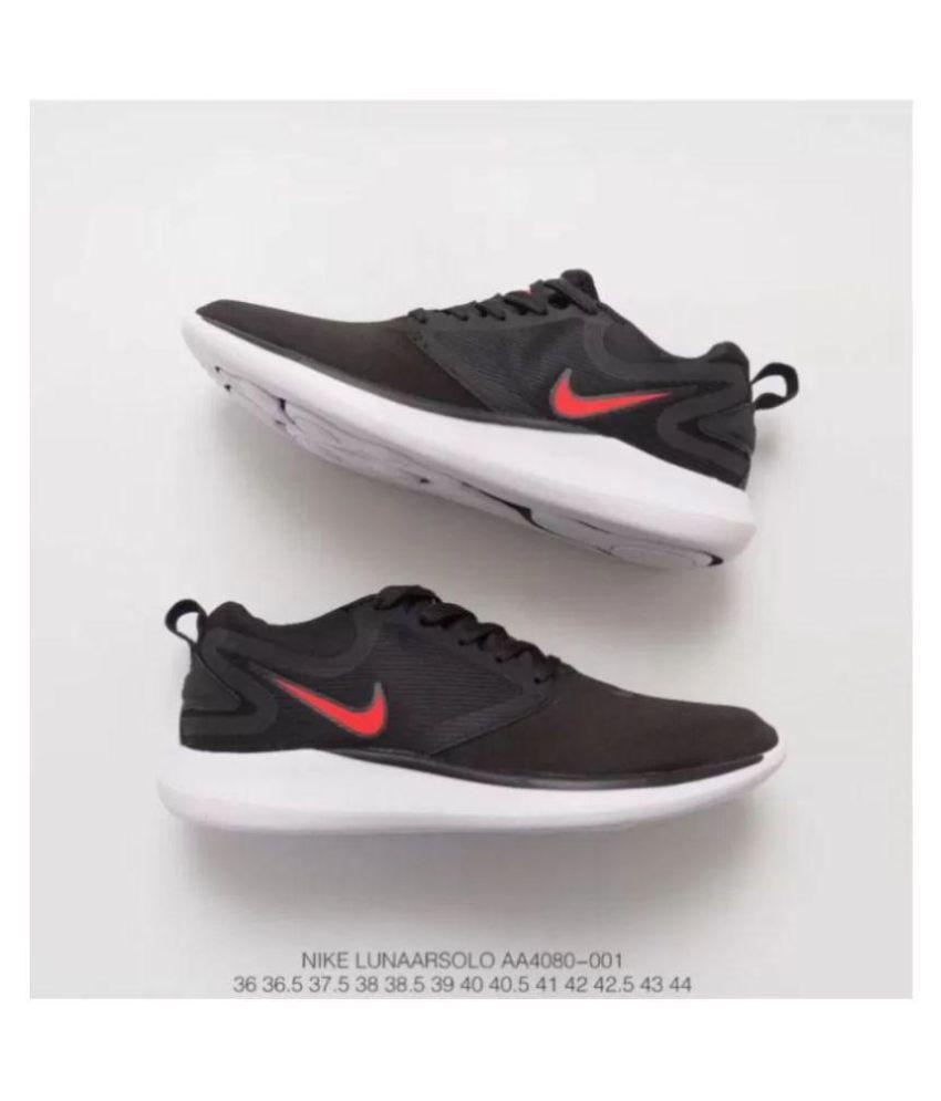 Nike Lunarsolo 2018 Black/Red Grey