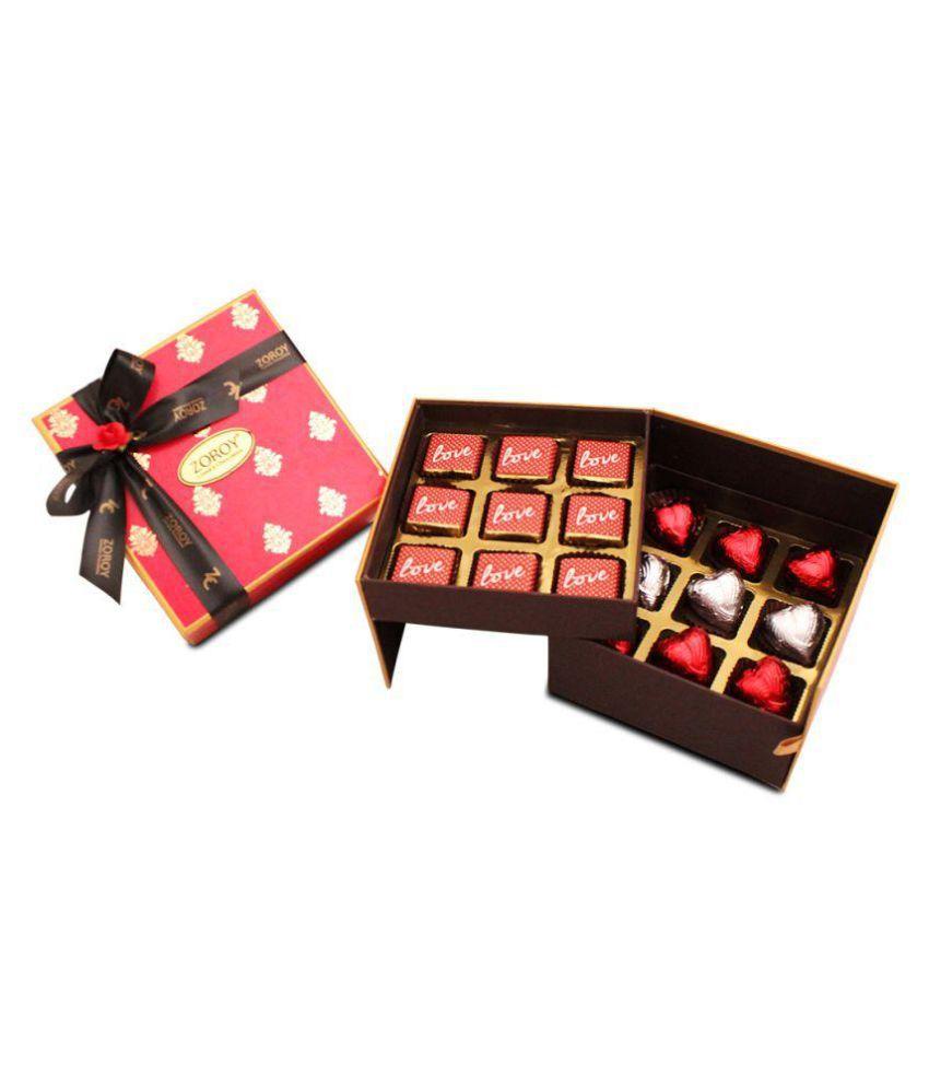 Zoroy Luxury Chocolate Chocolate Box Valentine chocolate gift 180 gm
