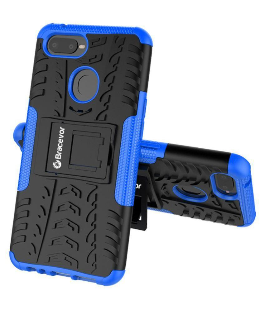 Oppo F9 Pro Cases with Stands Bracevor - Blue