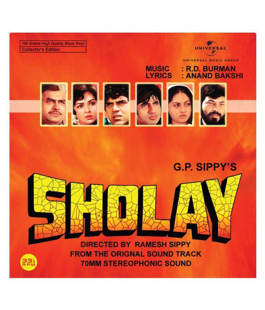 SHOLAY ( Vinyl )- Hindi