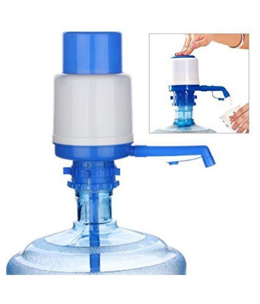 SURSAI 1 Piece Water Bottle Dispenser Manual Hand Press Pump Water Pump Fits Most Standard Suits for 20 Litre Bottles (Assorted)