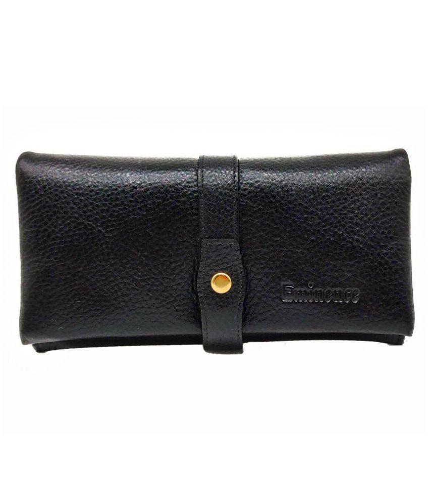 Eminence Black Pure Leather Handheld