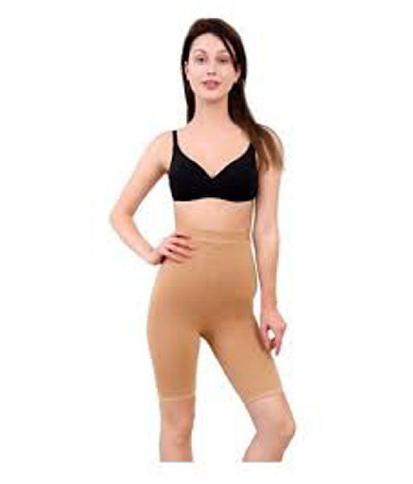 eb03fcb346 Buy Goonchy Cotton Lycra Thigh Compressor Shapewear Online at Best ...