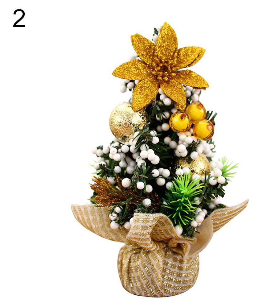 Christmas Tree Bow.20cm Mini Christmas Tree Bow Knot Ball Flower Xmas Party Table Decor Ornaments