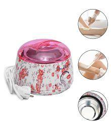 Floral Print Pro 220V Mini SPA Hands Feet Wax Machine Warmer Heater Health Care