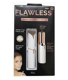 Sams Flawless Facial Hair Remover Epilator ( White )