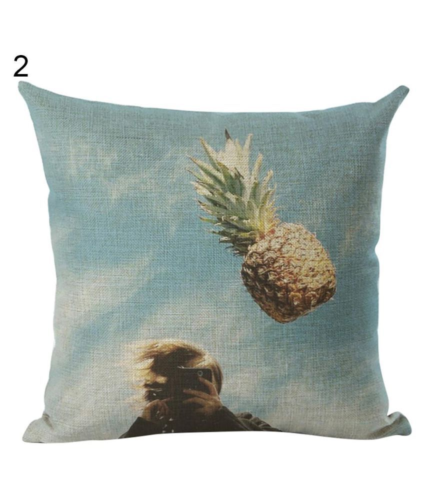 Colorful Pineapple Print Pillow Case Waist Throw Cushion Cover Bedroom Decor Buy Colorful Pineapple Print Pillow Case Waist Throw Cushion Cover Bedroom Decor Online At Low Price Snapdeal