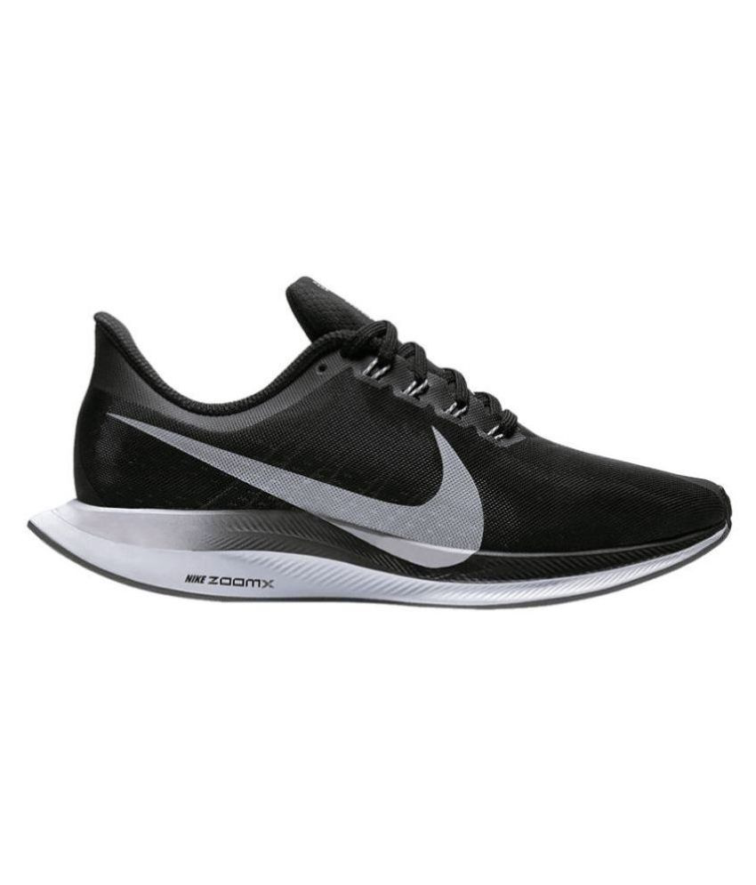48a0c1b8449a NIKE 2019 NIKE ZOOM X Running Shoes Black  Buy Online at Best Price on  Snapdeal