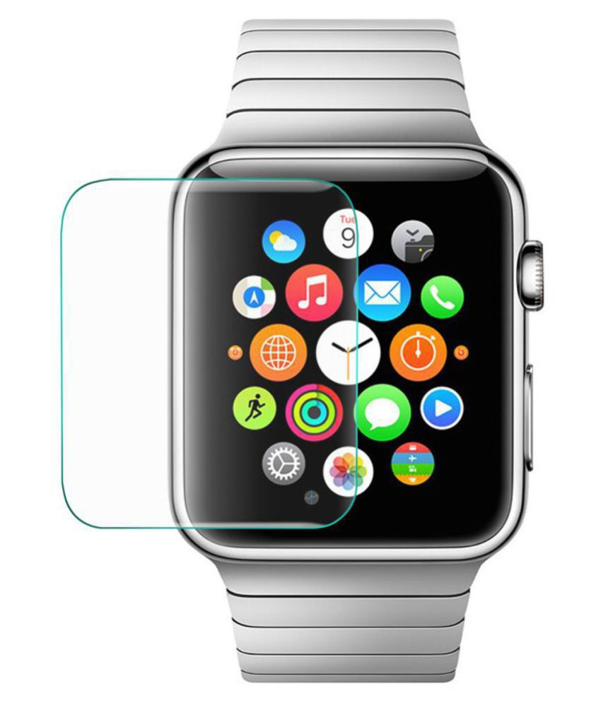 Apple i watch 38mm Tempered Glass Screen Guard By CrackerDeal