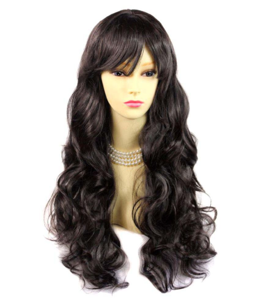 AirFlow Black Party Hair Wig  Buy Online at Low Price in India - Snapdeal da6c911dc