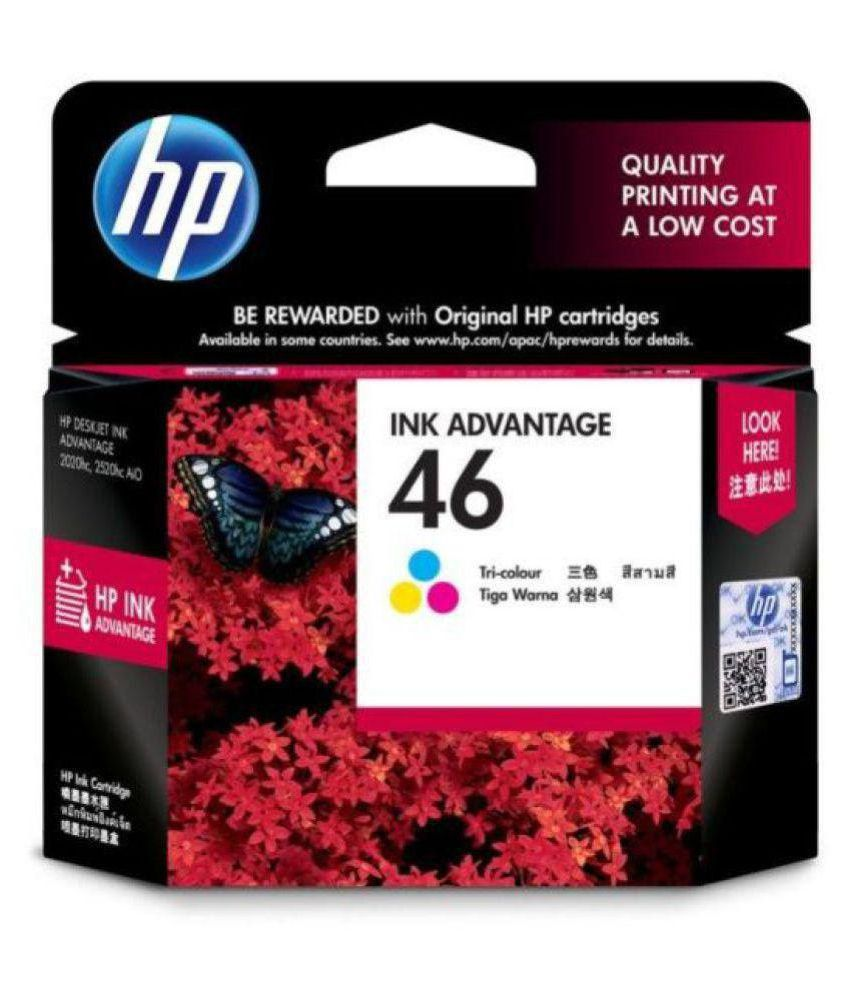 HP 2 Ink Cartridge Black Single