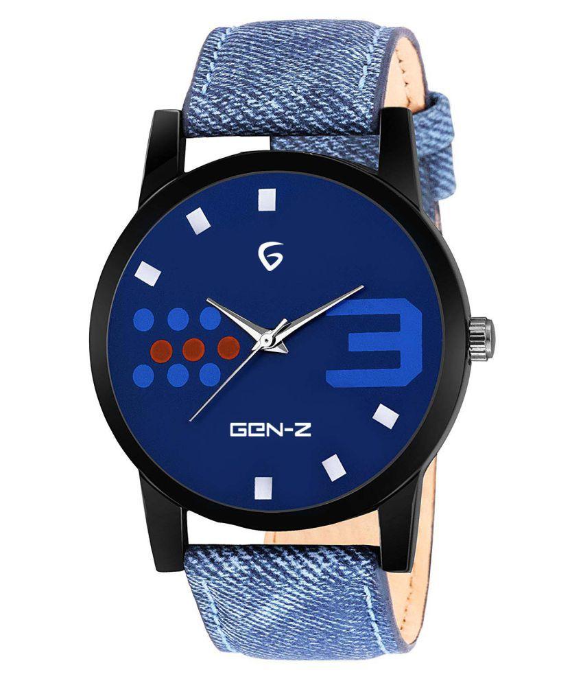 Gen-Z Fabric Analog Men's Watch