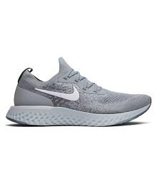 best website 168fe ddb32 Quick View. Nike Epic React Flyknit Grey Running Shoes