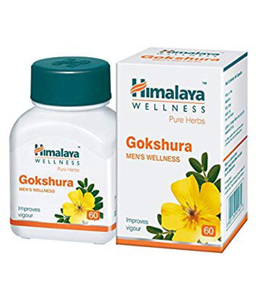 Himalaya Wellness Gokshura Tablet 60 no.s Pack Of 6
