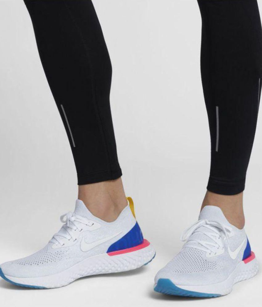2352f716456 Nike 2018 Epic React Flyknit White Running Shoes - Buy Nike 2018 Epic React  Flyknit White Running Shoes Online at Best Prices in India on Snapdeal