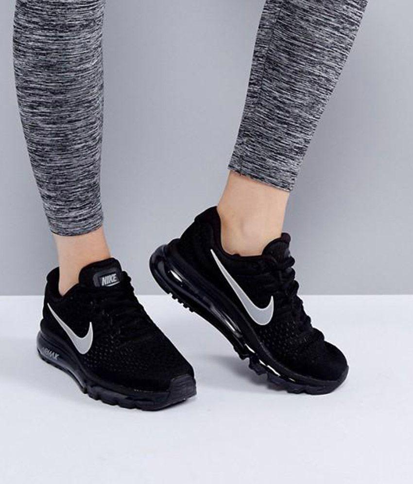 Nike Air Max 2017 Black Running Shoes - Buy Nike Air Max