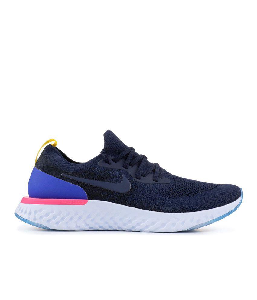 167bd4177122 Nike Epic React Blue Running Shoes Nike Epic React Blue Running Shoes ...
