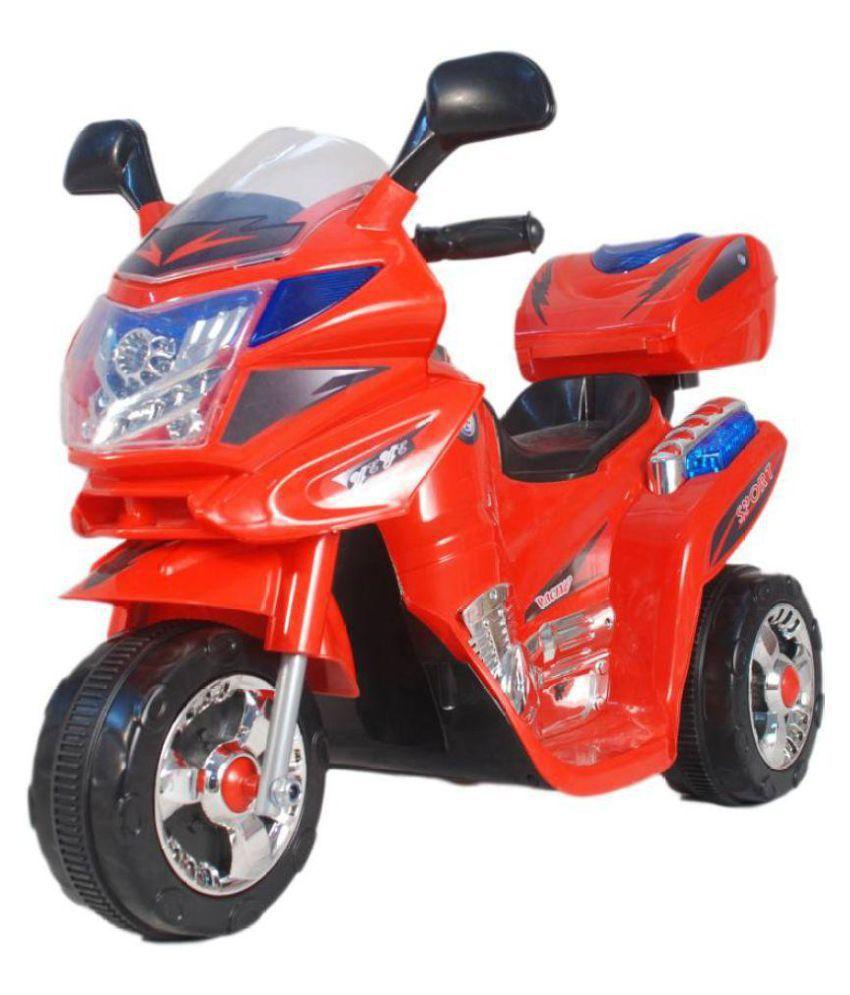 Ayaan Toys Kids Mini Blue Bike Bike Battery Operated Ride ...
