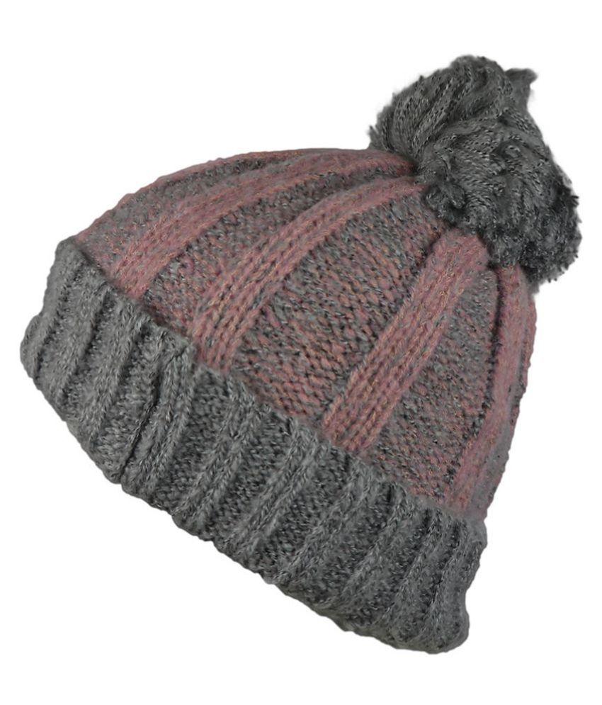 4e52904c0b7ea ... iSweven Fashionable Woolen Beanie Cap For Women