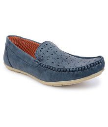 7e0e3d6a2e3fe Blue Mens Loafers Shoes :Buy Blue Mens Loafers Shoes Online at Low ...