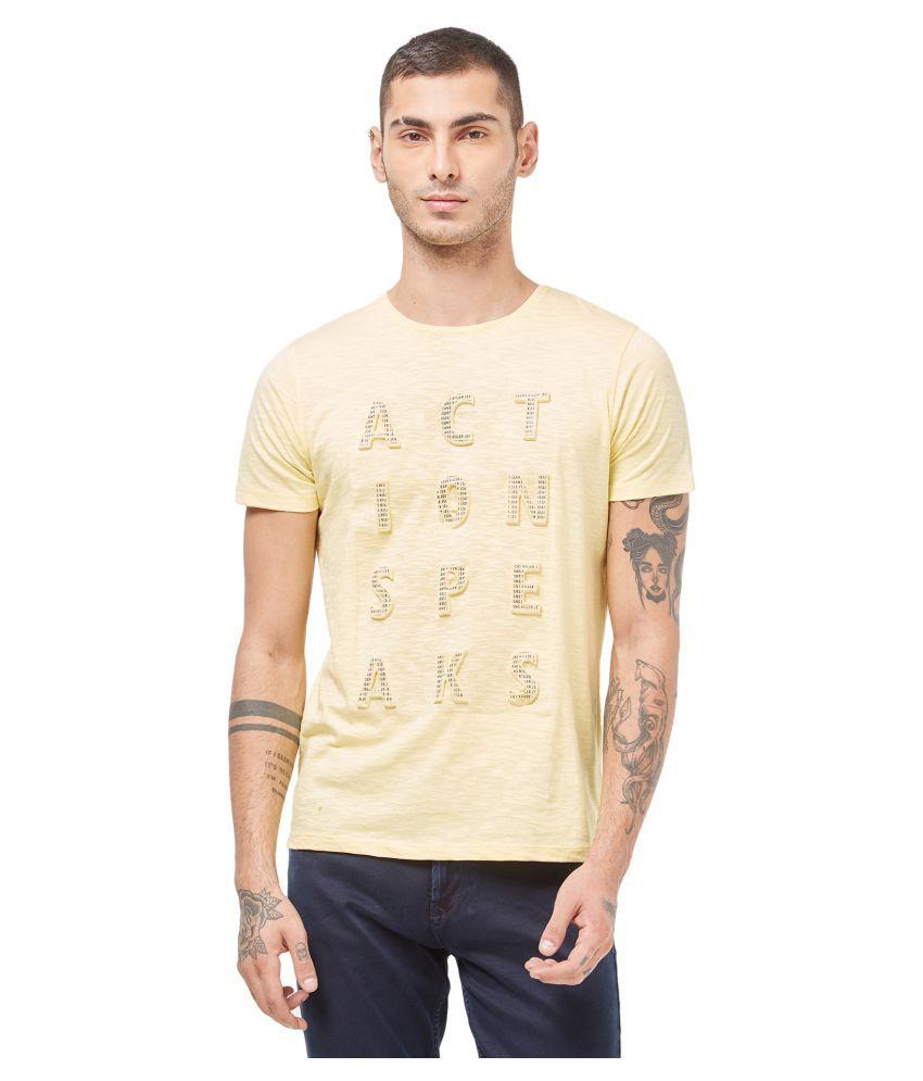 Killer Yellow Half Sleeve T-Shirt