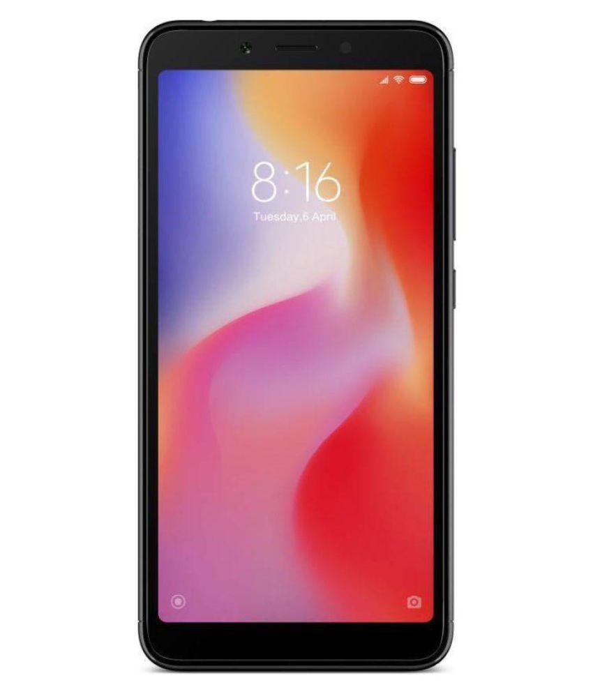 MI Black Redmi 6 (3GB+64GB) 64GB