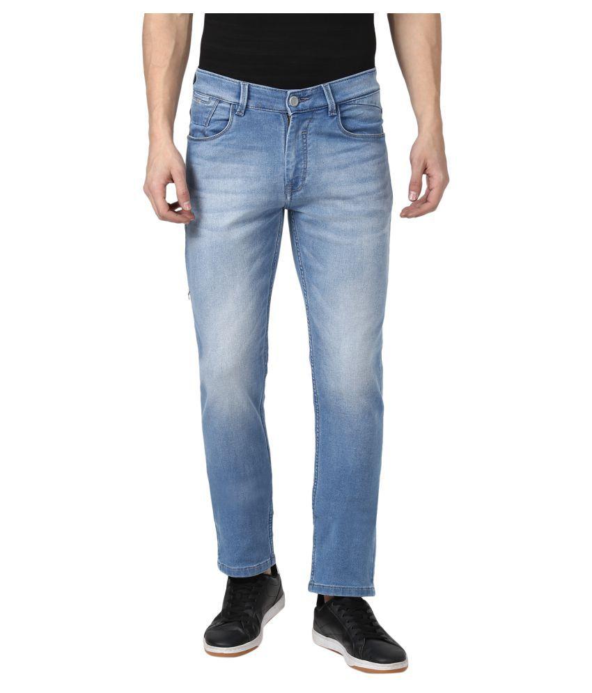 Monte Carlo Light Blue Slim Jeans