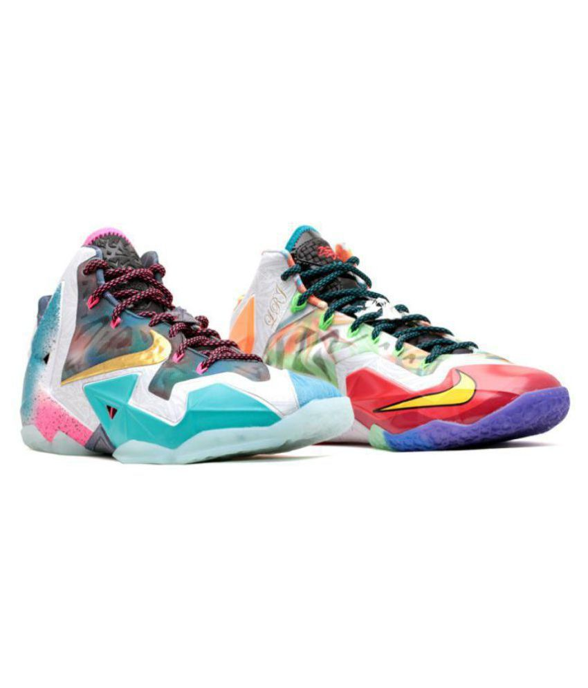 quality design e208b fc527 Nike LeBron 11  What The LeBron  Multi Color Basketball Shoes - Buy Nike  LeBron 11  What The LeBron  Multi Color Basketball Shoes Online at Best  Prices in ...