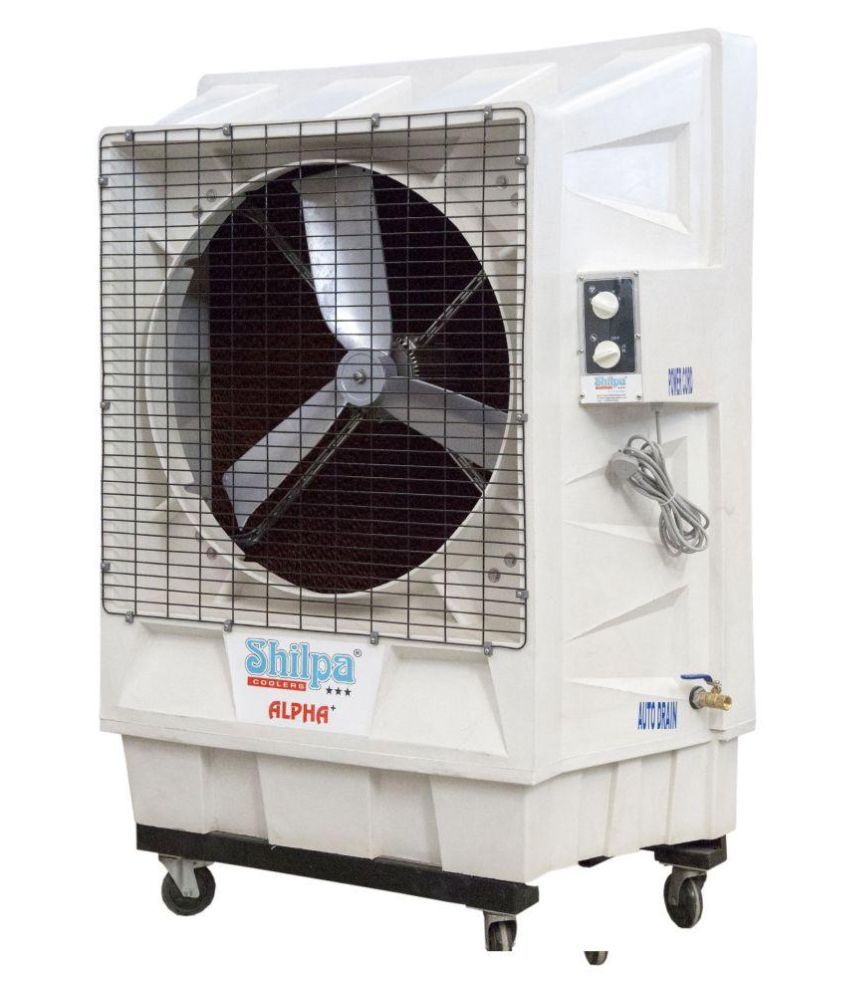 Shilpa Shilpa Air Cooler Alpha Plus (WHITE) 61 & Above Desert White