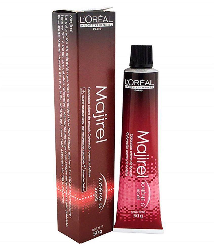 Majirel Brown Red Iridescent Reflect Color No. 4.26 Permanent Hair Color Brown 50 gm