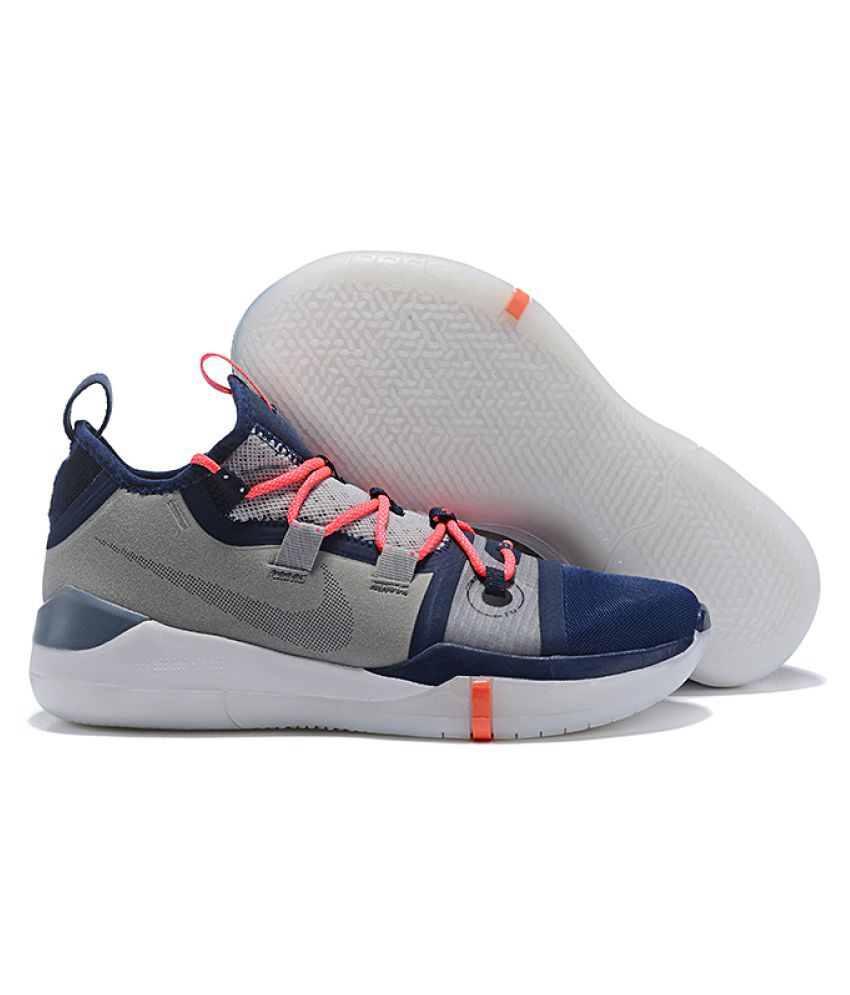 e8a2fcfb7b26 Nike KOBE AD 2019 Ninja Gray Basketball Shoes - Buy Nike KOBE AD 2019 Ninja  Gray Basketball Shoes Online at Best Prices in India on Snapdeal