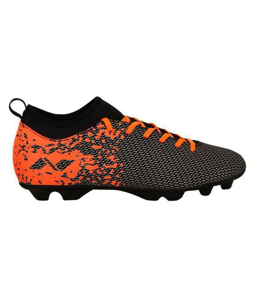 c07935c2b85a Nivia Carbonite Football Studs Studds Unisex Black  Buy Online at ...