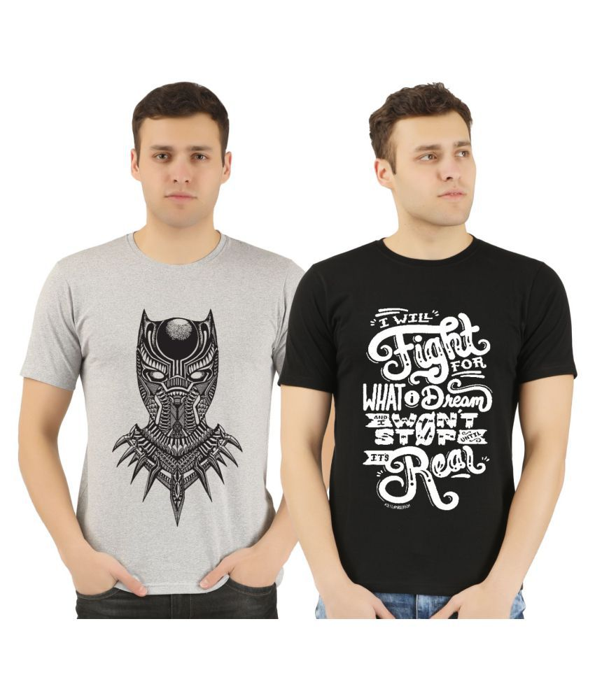 Supercloth Multi Half Sleeve T-Shirt