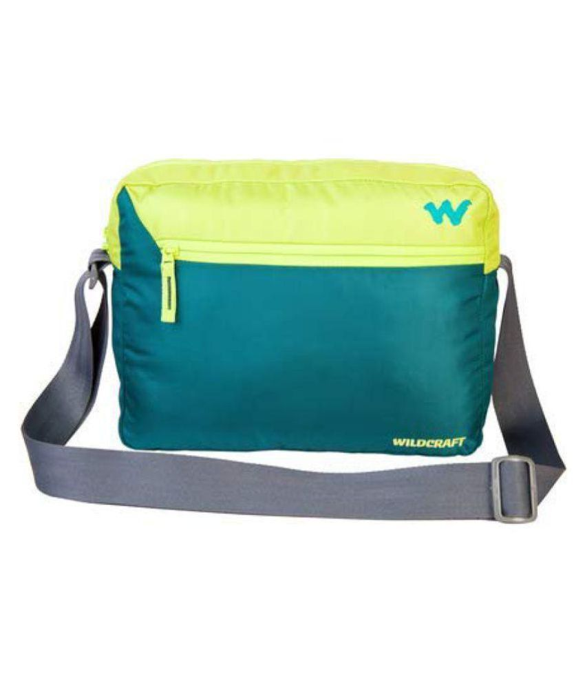 454bfed12 Wildcraft Yellow Polyester Casual Messenger Bag - Buy Wildcraft Yellow  Polyester Casual Messenger Bag Online at Low Price - Snapdeal