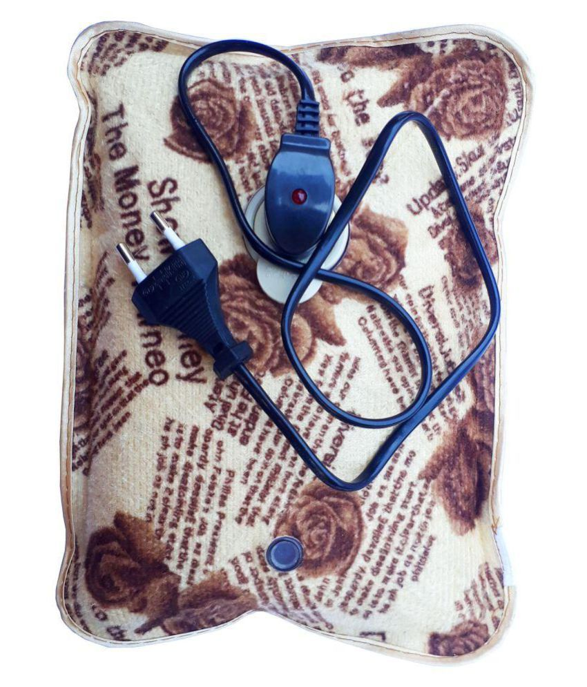 An American hot pad Velvet for Pain Reliefe Electric Hot Water Bag Heating Gel Pad