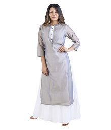 41ff14c7 Quick View. Vedic Grey Cotton Double Layered Kurti. Rs. 1,999 Rs. 1,599.  20% Off