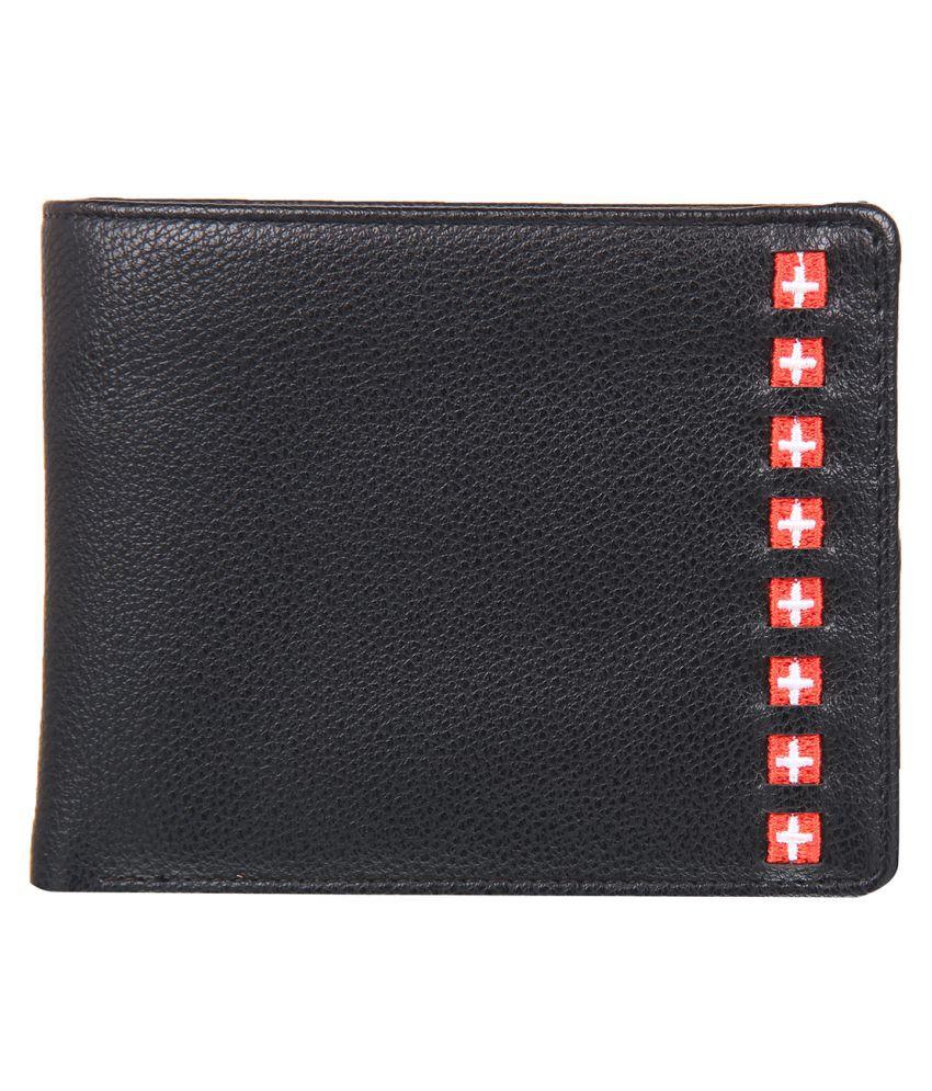 Leather Zentrum Leather Black Fashion Regular Wallet