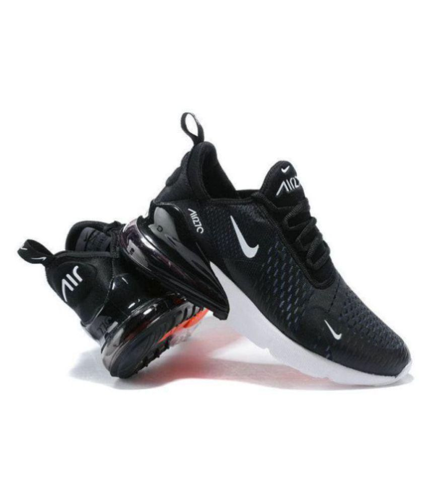 sports shoes a3fc5 96c1e Nike 1 Air Max 27C Running Shoes Black For Gym Wear ...