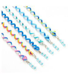 6Pcs/Set Baby Girls' Hair Braid Tool Curler Roller Spiral Hair Decor Accessory