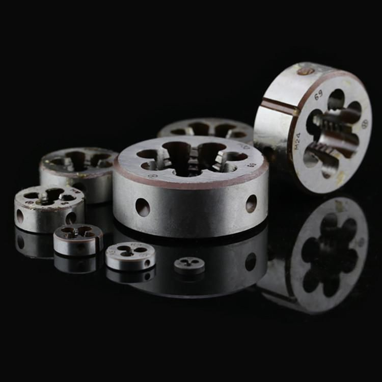 2015 Alloy Tool Steel Metric Right Hand Die Thread Size From M1To M14 25mm Pitch